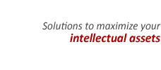 Solutions to maximize your intellectual assets